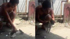 Ölmüş Olan Bir Yavru Köpeği Hayata Geri Döndürdü