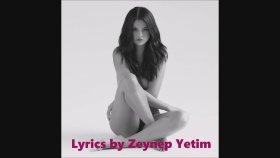 Selena Gomez- Sober Official Lyrics