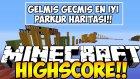 Minecraft GELMİŞ GEÇMİŞ EN İYİ PARKUR HARİTASI !! (HighScore)