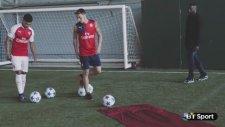 Arsenal'de eğlenceli dakikalar!