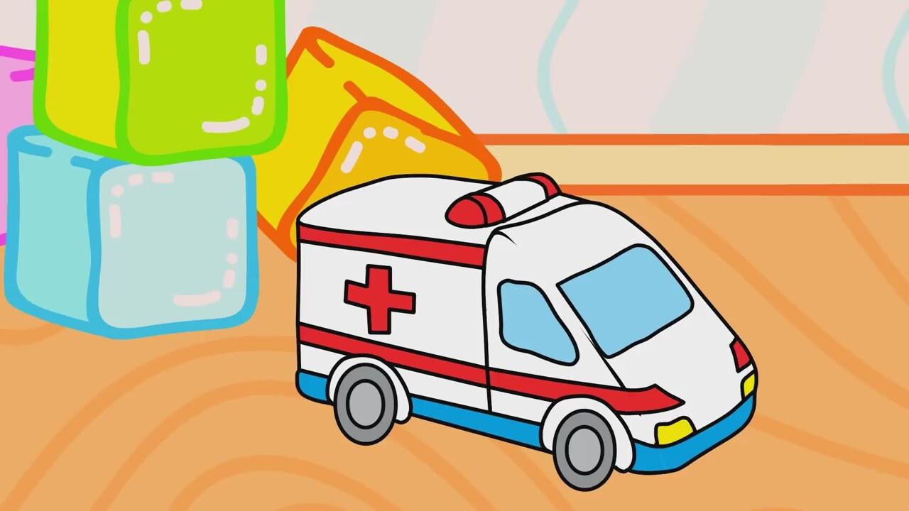 çizgi Film Oyuncaklar Itfaiye Arabası Ve Ambulans Izlesenecom