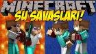 Minecraft SU SAVAŞLARI !! #4 (1v1 Büyük Kapışma) - AHMETLE ÇEKİŞMELİ DAKİKALAR! w/Ahmet Aga
