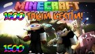 1500 TAKIM KESTİM! - Minecraft Sky Wars! - Minecraft Gökyüzü Savaşları!