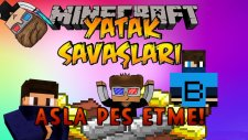 ASLA PES ETME! - Minecraft BEDWARS - Minecraft Yatak Savaşları! w/AzizGaming,Barış Oyunda