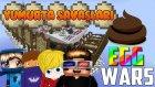 BOK SAVAŞLARI! - Minecraft YUMURTA Savaşları! w/ AzizGaming,Barış Oyunda,Türkçe Takıntılı Oyuncu