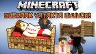 BugraaK YATAKTA UYUYOR! - Minecraft Yatak Savaşları! - w/ Minecraft Evi , Wolvoroth