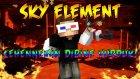 CEHENNEMİN DİBİNE VURDUK! - Minecraft SKY ELEMENT! - Bölüm 5