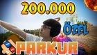 GÜLMEKTEN YARILDIM! - Minecraft Parkur - 200.000 Abone Özel Video!