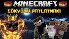 KARANLIK VE ZEHİRLİ GÖKYÜZÜNÜ PATLATMAK! - Minecraft Sky Wars! - Minecraft Gökyüzü Savaşları!