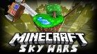 KATLİAM YAPMAK! - Minecraft Sky Wars MEGA - Minecraft Gökyüzü Savaşları MEGA! (Şiddet İçerir!)