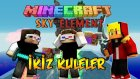 LANETLİ İKİZ KULELER! - Minecraft SKY ELEMENT! - FİNAL!