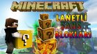 LANETLİ ŞANS BLOKLARI! - Minecraft ŞANSLI ADALAR! - Minecraft Lucky Islands!