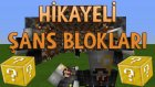 Minecraft HİKAYELİ ŞANS BLOKLARI - Ghost Gamer Boss Kestik!