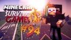 Minecraft Hunger Games - Bölüm 94 - Yeni Texture Pack!
