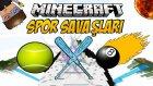 Minecraft SPOR SAVAŞLARI - BÖYLE SAVAŞ GÖRÜLMEDİ - w/İbrahimle Akıyoruz,Türkçe Takıntılı Oyuncu,ODA