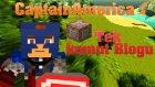 Minecraft Tek Komut Bloğu ile Captain America(Avengers) Yapmak | Vanilla Minecraft 1.8.X!