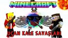 Minecraft UÇAN KALE SAVAŞLARI! - SINIRLARI ZORLAMAK!