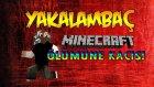 ÖLÜMÜNE KAÇIŞ!  - Minecraft TNT YAKALAMBAÇ! (TNT Tag)