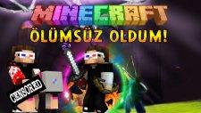 OYUNDA ÖLÜMSÜZ OLDUM! - Minecraft Sky Wars! - Minecraft Gökyüzü Savaşları!