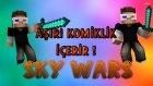 REKOR HIZLI BİTİRMEK! (Türkçe Minecraft : Sky Wars)