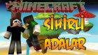 SİHİRLİ ADALAR! - Minecraft ŞANSLI ADALAR! - Minecraft  Lucky Islands!