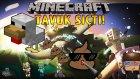 TAVUK SIÇTI! - Minecraft Sky Wars! - Minecraft Gökyüzü Savaşları! w/ Ahmet Aga
