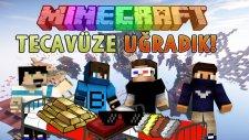 TECAVÜZE UĞRADIK! - Minecraft BEDWARS w/ AzizGaming,Barış Oyunda,OyunKonsolu
