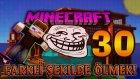 Türkçe Minecraft - 30 FARKLI ŞEKİLDE ÖLMEK! (Özel Harita)