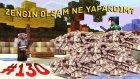 Türkçe Minecraft Hunger Games - Bölüm 130 - ZENGİN OLSAM NE YAPARDIM!