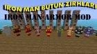 Türkçe Minecraft Mod Tanıtımları - İRON MAN ZIRHLARININ TANITIMI!