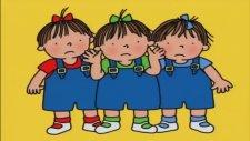 Üçüzler Çizgi Filmi Doğum Günü Kutluyorlar