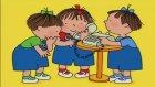 Üçüzler Çizgi Filmi Telefonla Konuşmayı Öğreniyorlar