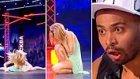 Rus Yetenek Yarışmasında Dans Ederken Burnunu Kıran Şanssız Yarışmacı