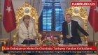 Angela Merkel'in oturduğu koltukların harap halde çürümeye başlamış olduğu anlaşıldı