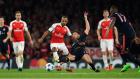 Arsenal 2-0 Bayern Münih - Maç Özeti (20.10.2015)
