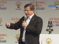 AK Parti İktidardan İndirilirse Beyaz Toroslar Dolaşacak  - A. Davutoğlu