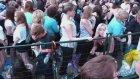 Dans Ederken Videoya Çekildiğini Farkeden Kız
