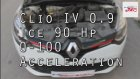 Renault Clio 0.9 Tce 90 HP 0-100 Km Acceleration