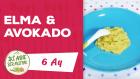 6 Aylık Bebekler İçin Elma & Avokado Püresi Tarifi