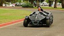Destansı Görüntüsüyle Özel Üretim Batmobile Go-Kart