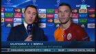 """Podolski: """"Bizim için küçük bir finaldi"""""""