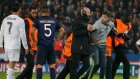 Stadın içine girip Ronaldo'ya saldırdı!