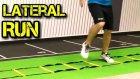 Kondisyon Futbol Antrenmani - Egzersiz Lateral Run, cabukluk, ceviklik, koordinasyon