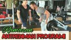 Ramazan ayi icin Fitness Antrenman Programi, Egzersizler Hareketler