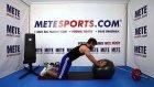 Evde Pilates Egzersizleri - Düz Kol ile Topta Çember