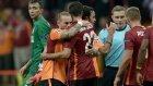 Galatasaray-Benfica maçından objektiflere yansıyanlar