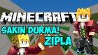 Minecraft SAKIN DURMA,ZIPLA! (Don't Stop Jumping) - KORKUDAN 1 SANİYE BİLE DURMUYORUM! (Parkour Map)
