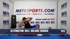 Pilates Hareketleri - Pilates Topu ile Dönüşümlü Yan Mekik