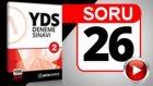 SORU 26 -  Preposition Sorusu