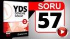 SORU 57 YDS Paragraf Sorusu ve Çözümü